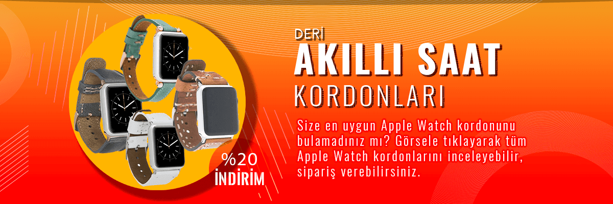 Apple Watch Kordonlarında %20 İndirim