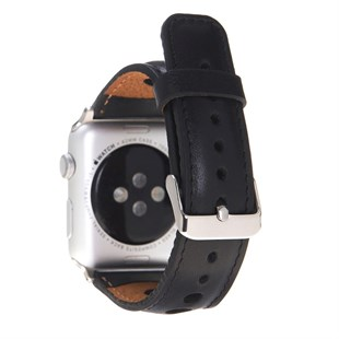 Bouletta Apple Watch Deri Kordon 42-44mm Çember RST1