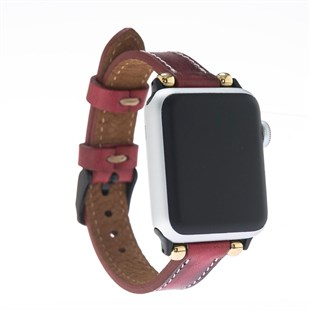Bouletta Apple Watch Deri İnce Kordon 38/40/42/44mm-V4Ef