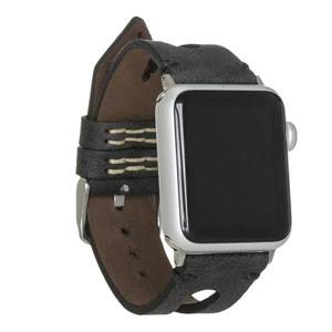 Bouletta Apple Watch Deri Kordon 38-40mm Ferro Gold Trok ERC3 Gri