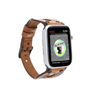 Bouletta Apple Watch Deri Kordon 42-44mm Trok SM65 RST2EF Taba