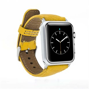 Bouletta Apple Watch Deri Saat Kordon 38/40mm Fl12 Sarı