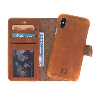 Bouletta Magic Wallet F360 Telefon Kılıfı-iPhone X/XS-Ro2 Taba