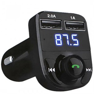 Car X8  Fm Transmitter & Bluetooth Araç Kiti