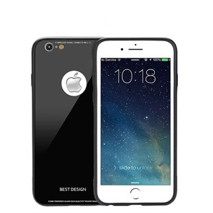 iPhone 8 Glass Silikon Kılıf