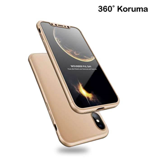 iPhone X 360 Rubber Kılıf