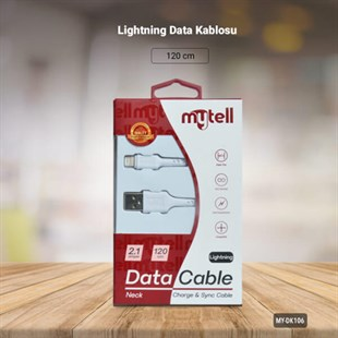 Mytell Neck IOS Şarj Data Kablosu
