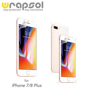 iPhone 7 Plus & iPhone 8 Plus Wrapsol Full Body Kaplama