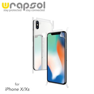 iPhone X & iPhone XS Wrapsol Full Body Kaplama