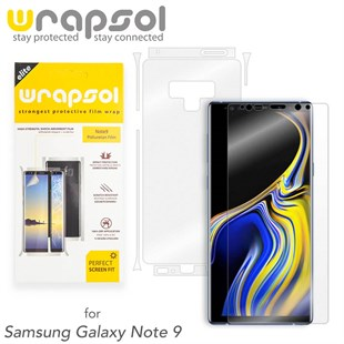 Samsung Note 9 Wrapsol Full Body Kaplama