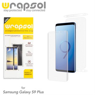 Samsung S9 Plus Wrapsol Full Body Kaplama