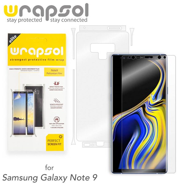 Wrapsol Kaplama Samsung Note 9 Wrapsol Full Body Kaplama